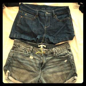 BCBG Denim Shorts